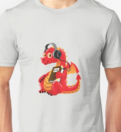 Audiobook Dragon Unisex T-Shirt