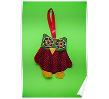 Cute owl decoration Poster