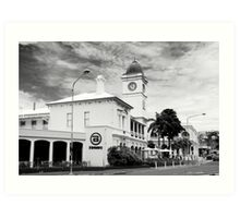 """Post Office Townsville - Now a pub """"The Brewery"""" Art Print"""