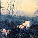 """Sunset on Skipwith Common"" by Glenn  Marshall"
