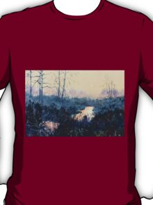 """Sunset on Skipwith Common"" T-Shirt"