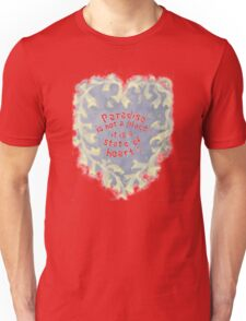 Paradise... is a state of heart Unisex T-Shirt