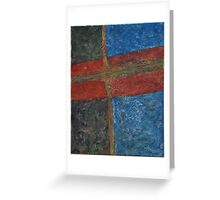 047 Abstract Thought Greeting Card