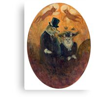 The Happy Couple. Canvas Print