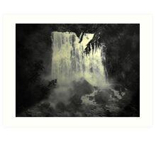 Midnight Falls Art Print