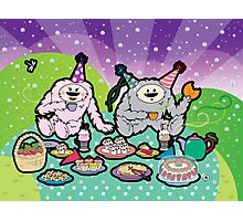 Monster Tea Party Photographic Print