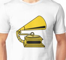 PHONOGRAPH GRAMOPHONE OLD SCHOOL  Unisex T-Shirt