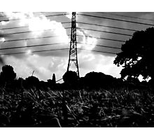 wire-stave Photographic Print