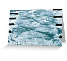 Ice Designs Greeting Card
