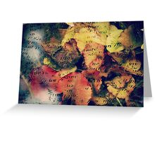 Waterlily Leaves - JUSTART ©  Greeting Card