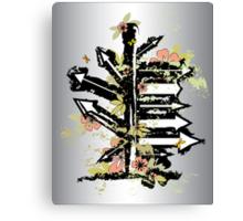 grunge arrows Canvas Print