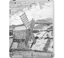 Traditional Romanian Windmill with a View, Barda Village - all products bar duvet iPad Case/Skin