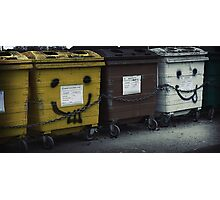 Really Bins Photographic Print