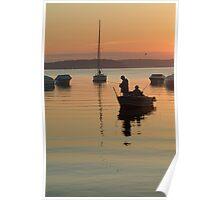 Lake Geneva Wis. 5 am Poster