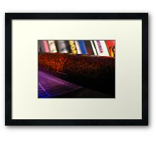 Samurai Abstract Framed Print