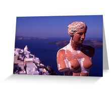 Goddess of  Love Greeting Card