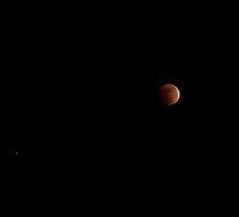 Lunar Eclipse by Crystal Zacharias