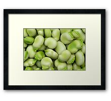 Broad Beans Framed Print