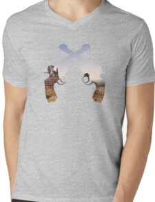 Old west  Mens V-Neck T-Shirt