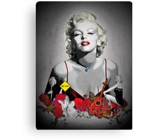 MARILYN_BLACK Canvas Print