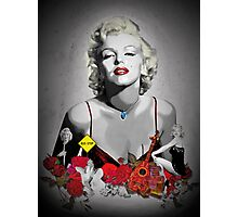 MARILYN_BLACK Photographic Print