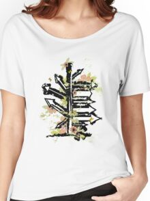 floral arrows Women's Relaxed Fit T-Shirt