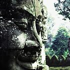 Bayon Face by Allison Lane