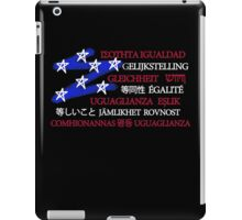 Equality in America iPad Case/Skin