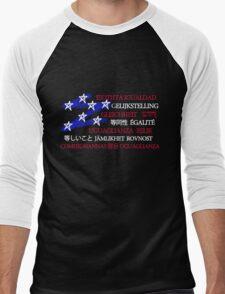 Equality in America Men's Baseball ¾ T-Shirt