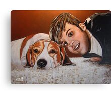 My Best Friend Forever Canvas Print