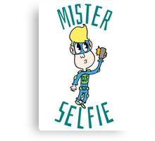 Mister Selfie Canvas Print