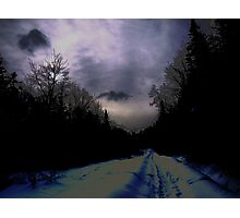 NC darkness comes for you Photographic Print