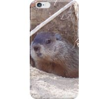 Mama Groundhog iPhone Case/Skin
