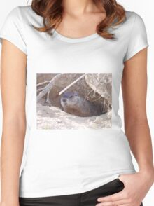 Mama Groundhog Women's Fitted Scoop T-Shirt