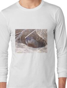 Mama Groundhog Long Sleeve T-Shirt