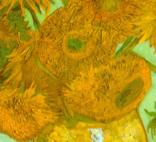 'Twelve Sunflowers' by Vincent Van Gogh (Reproduction) Sticker