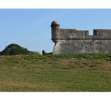 Fort St. Augustine Photographic Print