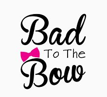 Funny, bad, bows, cute Womens Fitted T-Shirt