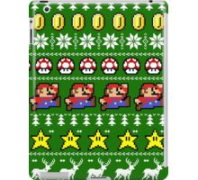 Super Mario 8-bit Ugly Christmas iPad Case/Skin