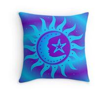 Celestial Harmony Throw Pillow