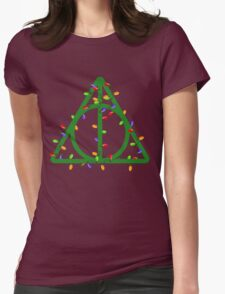 A Very Harry Christmas Womens Fitted T-Shirt