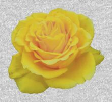 Beautiful Yellow Rose Closeup  Kids Clothes