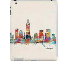 Indianapolis Indiana skyline iPad Case/Skin