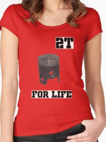 2t Women's Fitted Scoop T-Shirt