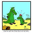 Crocodile tears by Hagen