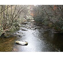 Mountrain Stream Photographic Print