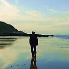 Beach Stroll by CinB