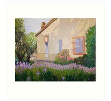 Cottage in Provence Art Print