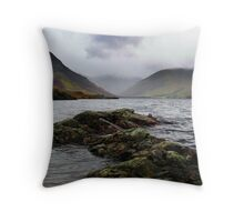 Wastwater @ Wasdale Valley Throw Pillow