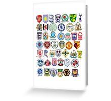Football teams Greeting Card